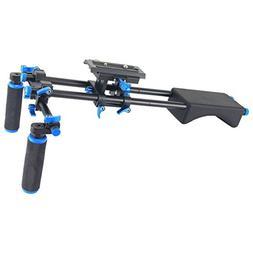 Annsm Video Shoulder Support Rig Stabilizer Slider for Long