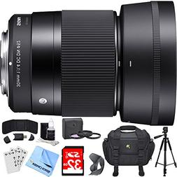 Sigma 30mm F1.4 DC DN Lens for Sony E Mount Includes Bonus X