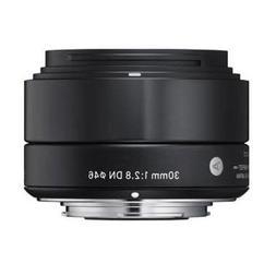 Sigma 30mm f/2.8 DN ART Lens for Sony E-mount Nex Series Cam