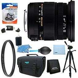 Sigma 17-50mm f/2.8 EX DC OS HSM FLD Standard Zoom Lens for