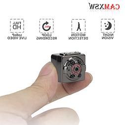 CAMXSW The smallest HD 1080P Camera Portable Mini Hidden Spy