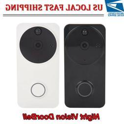 Smart Wireless WiFi Doorbell 720P Visual HD Video Camera Pho