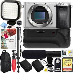Sony a6300 alpha 4K 24.3MP Mirrorless Camera Body w/ APS-C S