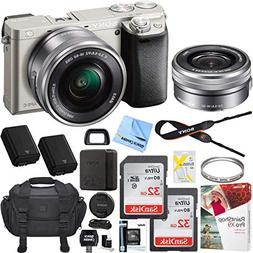 Sony Alpha a6000 Mirrorless Digital Camera 24.3MP SLR  w/ 16