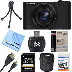 Sony Cyber-Shot DSC-WX500/B WX500B WX500 Digital Camera Blac