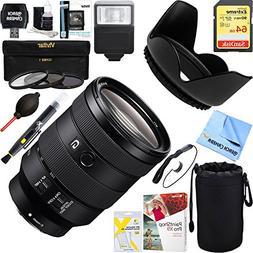 Sony  FE 24-105mm F4 G OSS E-Mount Full-Frame Zoom Lens + 64