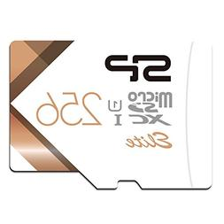 Silicon Power-256GB High Speed MicroSD Card with Adapter