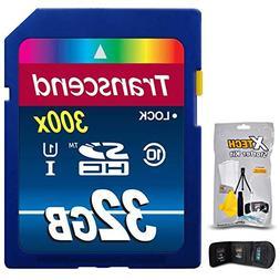 Transcend 32GB High Speed SD Memory Card KIT w/ Memory Card