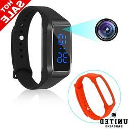 Sport Watch Hidden Cameras 1080P Smart Bracelet Style Mini V