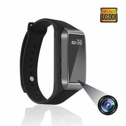 Sport Watch Hidden Cameras 1080P Smart Bracelet Style Mini V