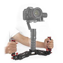 BEHOLDER Video Spring Dual Handle Stabilizer Holder Arm For