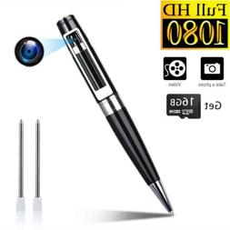 Spy Camera Pen Hidden Cameras Portable Video Recorder Mini D