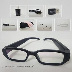 LDPmade Spy Camera Glasses Hidden Full HD 1080P 16GB Eyeglas