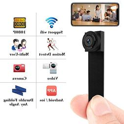 Spy Camera 1080P Hidden Mini Camera Wifi