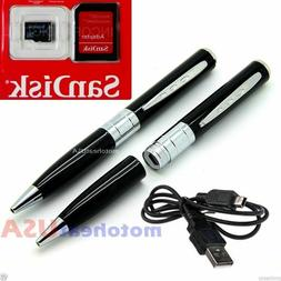 Spy Rec Pen Camera Mini Hidden DV DVR Surveillance Video Cam