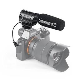Saramonic SR-M3 Mini Directional Shotgun Video Microphone fo