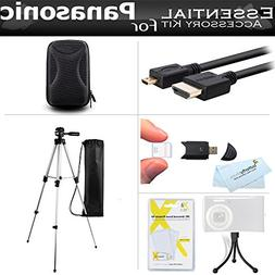 Starter Accessories Kit For The Panasonic ZS50, DMC-ZS45K, D