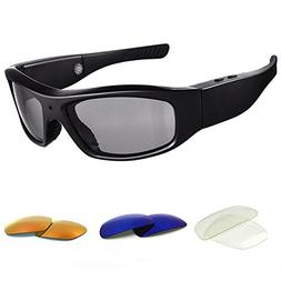 Forestfish Sunglasses with Camera HD 720P Video Recorder Cam