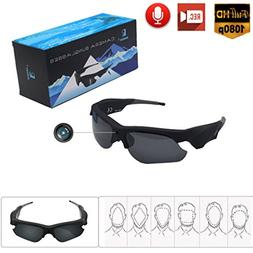 Sunglasses Camera for Man Full HD 1080P Wide Angle for for O