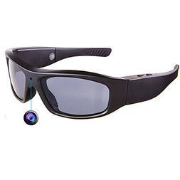DATONTEN Sunglasses with Camera HD 720P Video Recording Glas