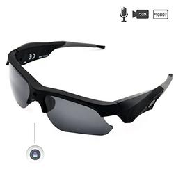 Sunglasses Camera Full HD 1080P Wide Angle for Sport,Sunsome