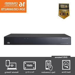 Samsung 16 Channel Super HD 4 MP Security DVR with 2TB Hard