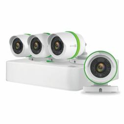 EZVIZ FULL HD 1080p Outdoor Surveillance System, 4 Weatherpr