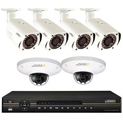 Q-See Surveillance System QC838-6CV-1, 8-Channel IP NVR with