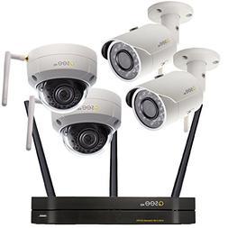 Q-See Surveillance System QCW4-4EN-1, 4-