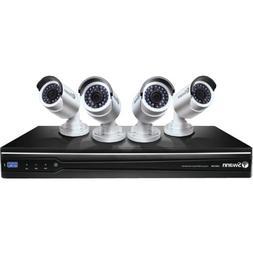 Swann SWNVK-872004-US Platinum-HD 1080p NVR with 4 Nhd-820 C