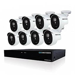 Night Owl 8-Channel 5MP HD Video Security System with 2TB HD