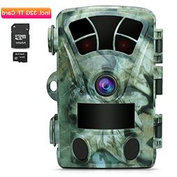AIMTOM T905 Hunting Trail Camera With 32G SD Card, 16MP 1080