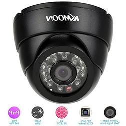 KKmoon TBL-1D42H2IR 700+ TVL Dome Camera with 24pcs IR LED N