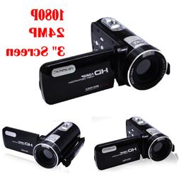 Touch Screen 1080P Full HD Digital Video Camera Camcorder Wi
