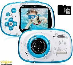 Toy Camera Waterproof HD Video Cameras for Kids Digital Camc