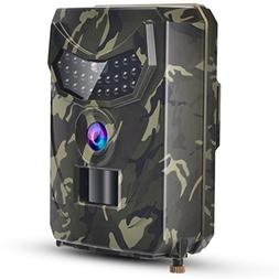 TKKOK Trail Camera with Night Vision Motion Activated,Trail
