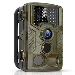 BYbrutek Trail Camera, 16MP 1080P Full HD Deer Hunting Game