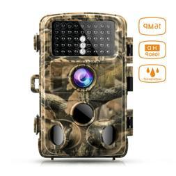 Campark Trail Hunting Camera 14MP FHD 1080P Waterproof IR  W