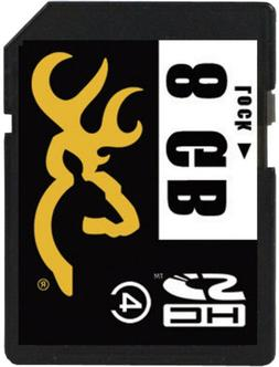 Browning Trail Camera 8 GB SD Card