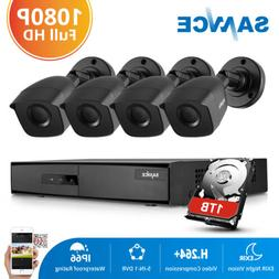 SANNCE HD 1080N 8CH 5in1 DVR 3000TVL Outdoor IR Home Securit
