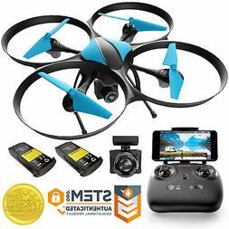 U49w Drone Camera Live Video Altitude Hold Headless Mode Fli