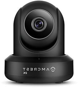 Amcrest UltraHD 2K WiFi Video Security IP Camera w/Pan/Tilt,