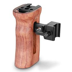 SMALLRIG Universal Side Wooden NATO Handle Grip DSLR Camera