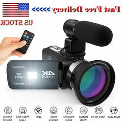"#US STOCK 4K UHD 3.0"" LCD TOUCHSCREEN WIFI DIGITAL VIDEO CAM"