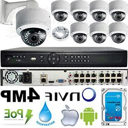 USG Business Grade 4MP 8 Camera HD Security System : Ultra 4