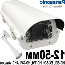 USG 12-50mm 1080P Telephoto Lens 6-in-1 CCTV Format Panasoni
