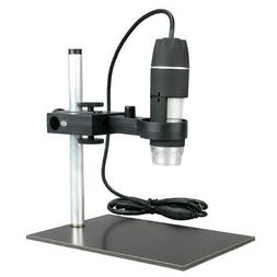 AmScope UTP200X003MP 200X 2Mp 8-Led Zoom Usb Digital Microsc