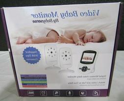 Babysense Video Baby Monitor with 2 Digital Cameras