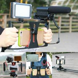 Video Camera Cage Stabilizer Film Making Rig For Smart Phone