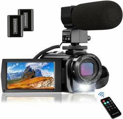 Video Camera Camcorder Melcam 1080P 30Fps 24Mp 3.0 Inch Scre